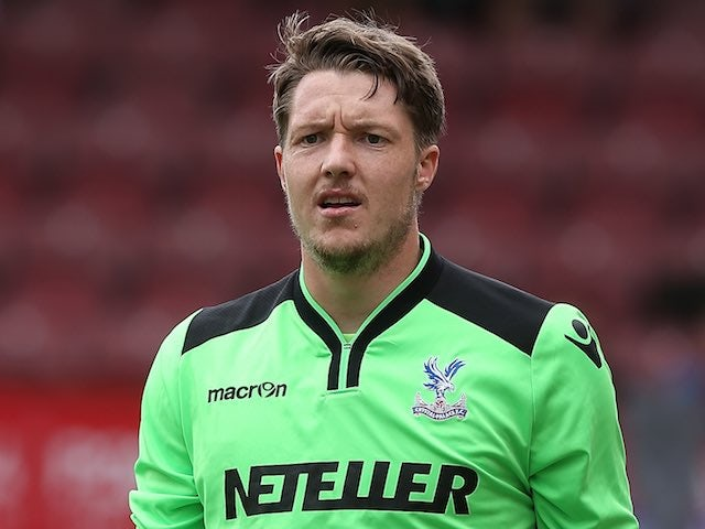 Wayne Hennessey in action for Crystal Palace on August 2, 2014