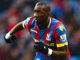 Yannick Bolasie in action for Crystal Palace on December 20, 2014
