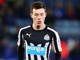Alex Gilliead in action for Newcastle on January 3, 2015