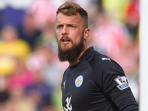 Ben Hamer in action for Leicester on September 13, 2014