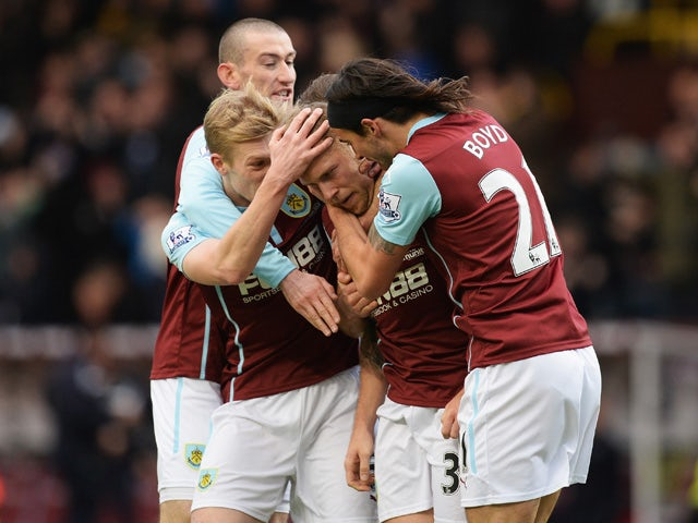 Result: Burnley hold on to secure narrow win