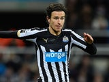 Daryl Janmaat in action for Newcastle on December 28, 2014