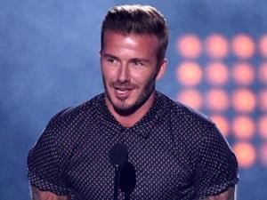 David Beckham on July 17, 2014