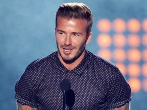 David Beckham on July 17, 2014