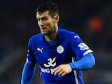 David Nugent in action for Leicester on November 22, 2014
