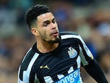 Emmanuel Riviere in action for Newcastle on January 1, 2015