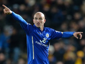 Esteban Cambiasso in action for Leicester on December 28, 2014