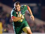 Fraser Balmain of Leicester Tigers during the match between Leicester Tigers and Barbarians at Welford Road on November 4, 2014