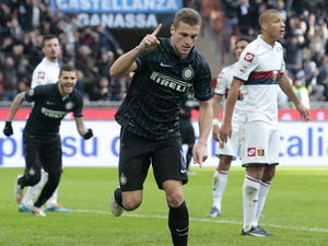 Inter Milan too good for Genoa