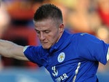 Jack Barmby in action for Leicester on July 22, 2014