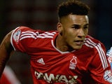 Jamaal Lascelles in action for Nottingham Forest on August 26, 2014