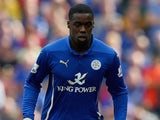 Jeff Schlupp in action for Leicester on September 13, 2014