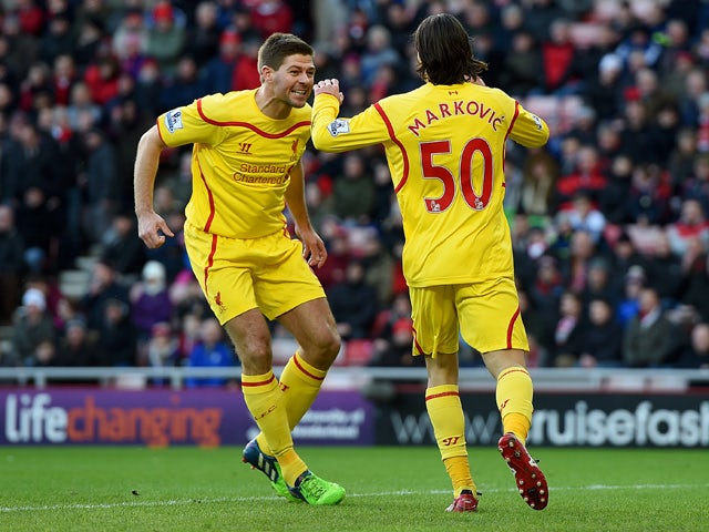 Result: Markovic strike enough for Liverpool