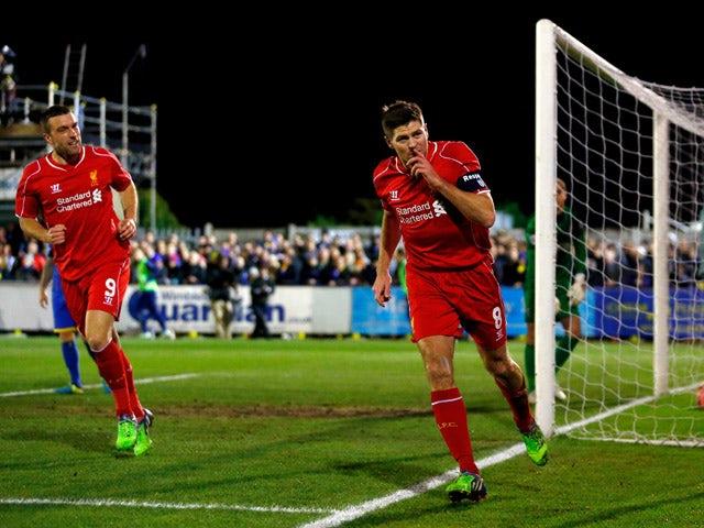Result: Gerrard brace downs Wimbledon