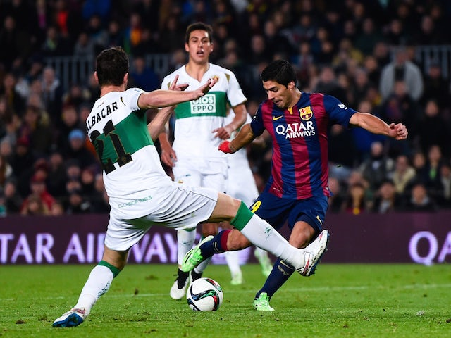 Result: Five-star Barcelona thrash Elche