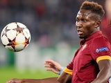 Mapou Yanga-Mbiwa in action for Roma on December 10, 2014