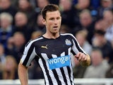 Mike Williamson in action for Newcastle on November 22, 2014