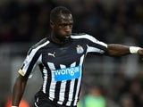 Moussa Sissoko in action for Newcastle on December 28, 2014