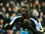 Papiss Cisse in action for Newcastle on December 28, 2014