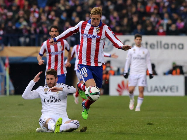 Result: Garcia, Gimenez give Atletico advantage