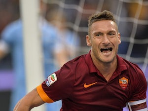 Team News: Totti starts for Roma