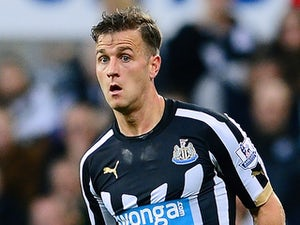 Ryan Taylor in action for Newcastle on November 24, 2014