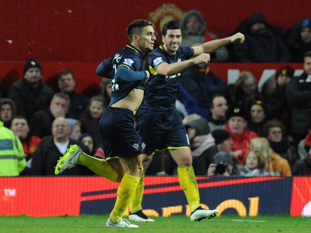 Result: Southampton seize win at Man Utd