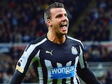 Steven Taylor in action for Newcastle on January 1, 2015