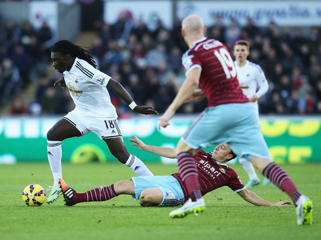 Result: Swansea secure point against Hammers