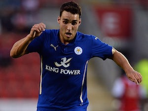 Tom Hopper in action for Leicester on August 5, 2014