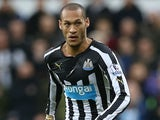 Yoan Gouffran in action for Newcastle on December 28, 2014