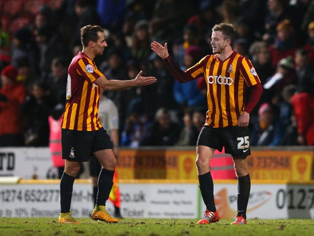 Result: Bantams thump Millwall to set up Chelsea clash