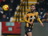 Greg Taylor of Cambridge United in action during the Sky Bet League Two match between Cambridge United and Northampton Town at Abbey Stadium on November 14, 2014