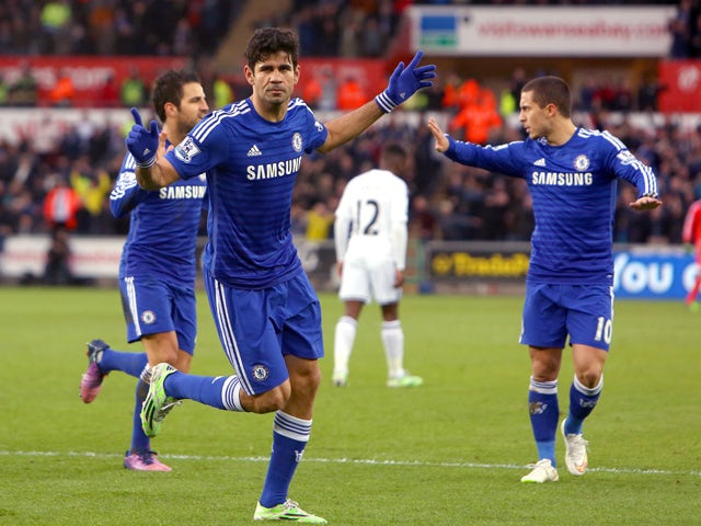 Result: Chelsea notch five in Swansea thrashing
