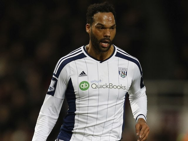 Joleon Lescott in action for West Brom on January 1, 2015