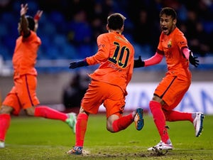 Barcelona progress to Copa del Rey final