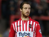 Ryan Harley of Exeter City in action during the Sky Bet League Two match between Exeter City and Northampton Town at St James Park on January 10, 2015