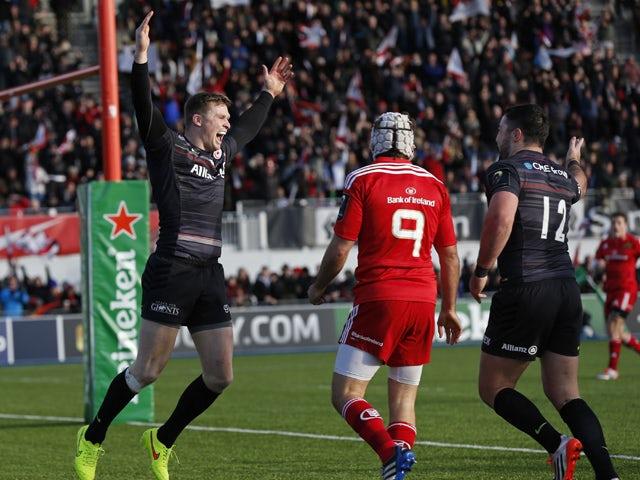 Result: Saracens too strong for Munster