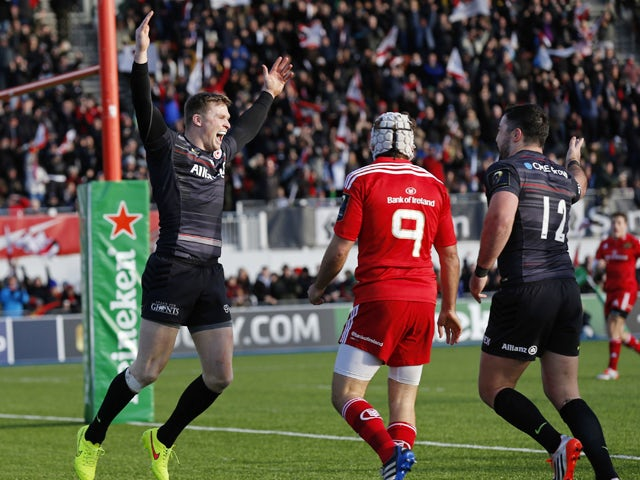 Result: Saracens too strong for Munster