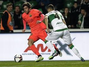 Barcelona sweep aside sorry Elche