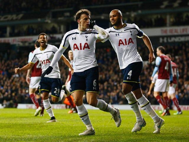 Result: Tottenham Hotspur fightback stuns Burnley