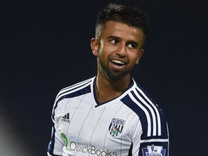 Adil Nabi in action for West Brom on October 16, 2014