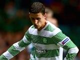 Aleksandar Tonev in action for Celtic on October 2, 2014