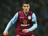 Ashley Westwood in action for Aston Villa on January 4, 2015