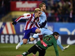Atletico ease past Rayo Vallecano
