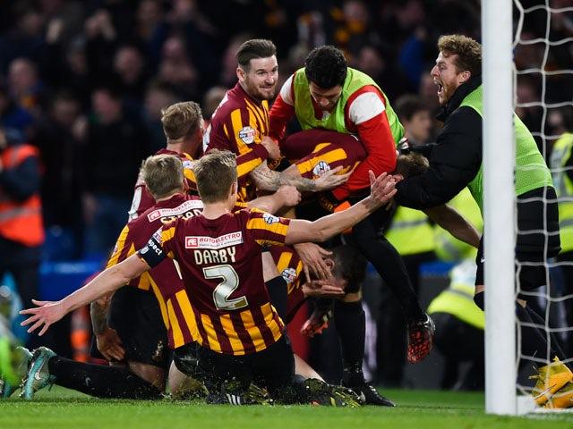 Result: Bradford comeback shocks Chelsea