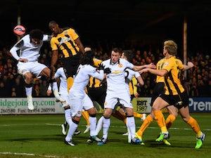 Cambridge earn Old Trafford replay