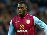 Christian Benteke in action for Aston Villa on December 28, 2014
