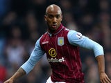 Fabian Delph in action for Aston Villa on December 28, 2014