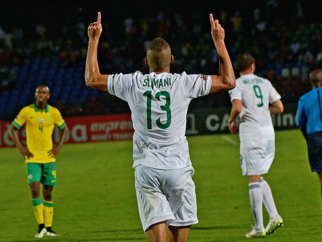 Result: Algeria fightback downs South Africa